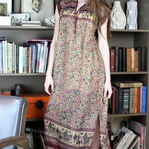 ☯️Stunning vintage boho hippie dress ☯️